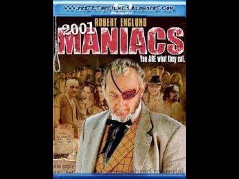 Filme Completo 2001 Maniacos Dublado Filmes De Terror Filme De