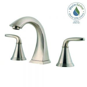 Pfister Selia 2Handle 4 Centerset Bathroom Faucet Brushed Nickel Stunning Pfister Bathroom Faucet Design Decoration