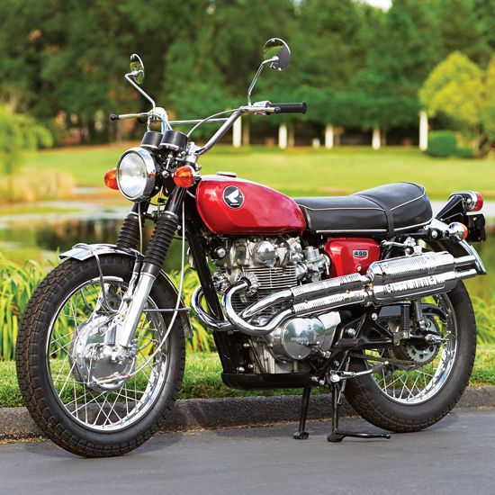 Restored to Ride: The 1968 Honda CL450 - Classic Japanese ...