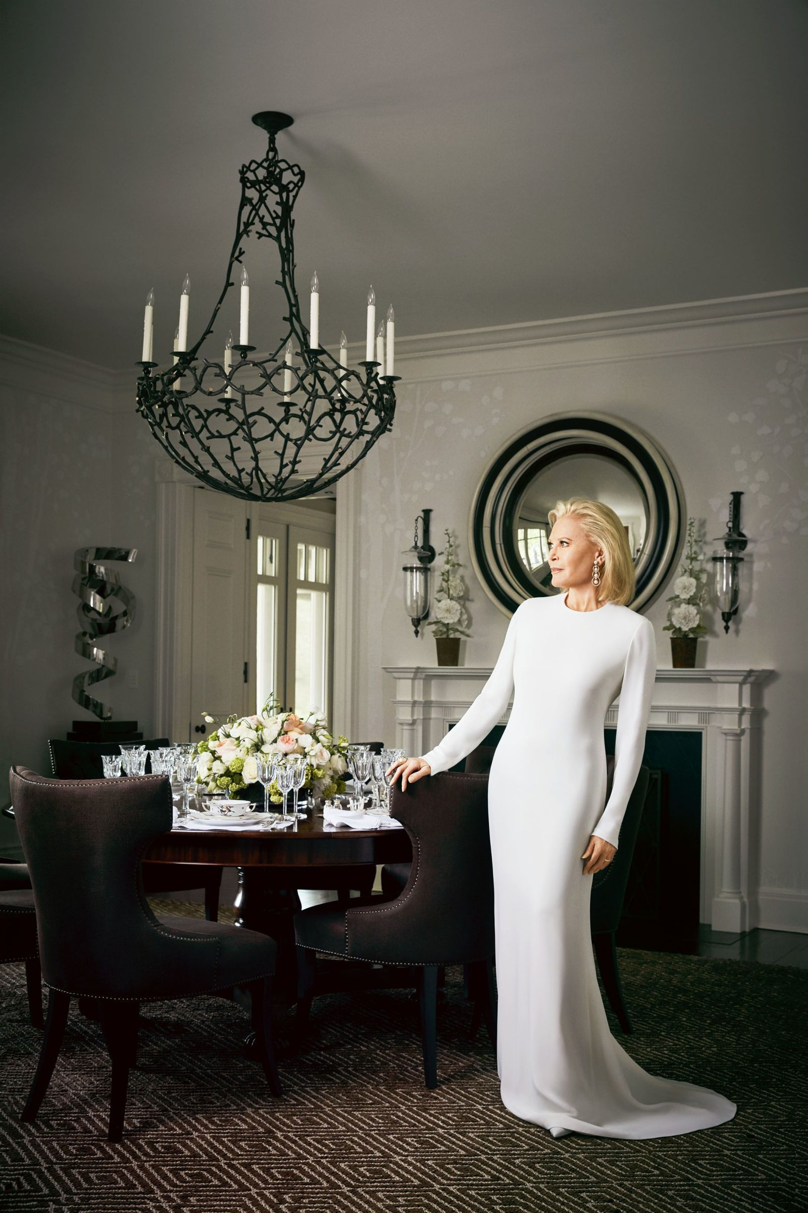 The Fashionable Life: Audrey Gruss Shows Us Her Southampton Home