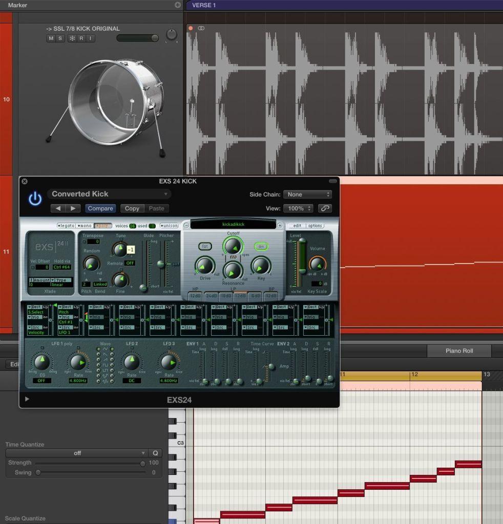 Mixing Kicks: Frequencies, Tones, Tuning & Transients   Logic pro