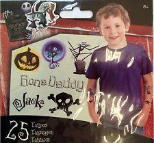 25 Disney Nightmare Before Christmas Tattoos Party Favors Jack Skellington