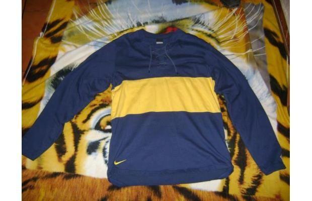Camiseta azul y oro, con Cordones retro 1913:
