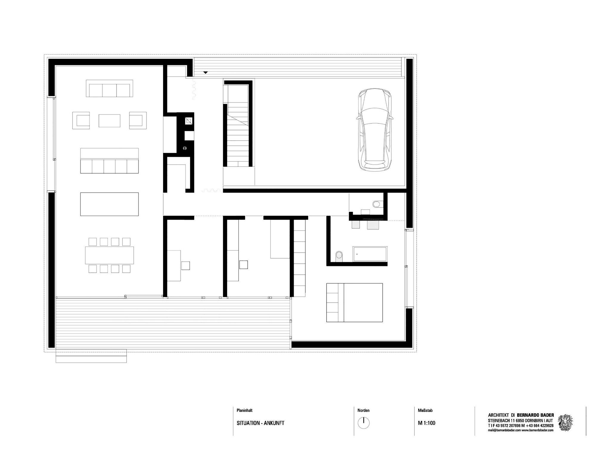 Gallery of haus kaltschmieden bernardo bader architects for Haus plan