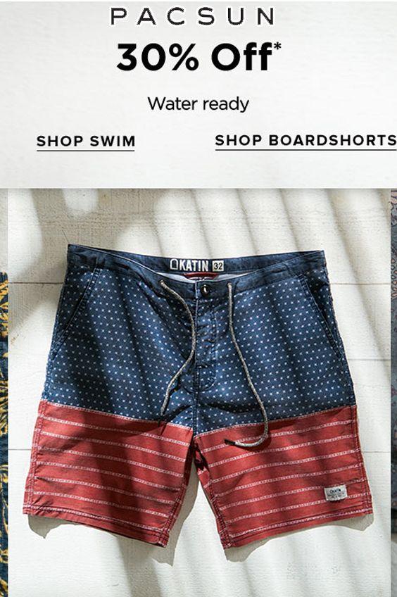 30% Off on Men s Swim Trunks 3fd021cddf80