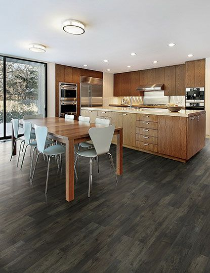 Luxury Vinyl Wood Flooring Dark Gray Google Search