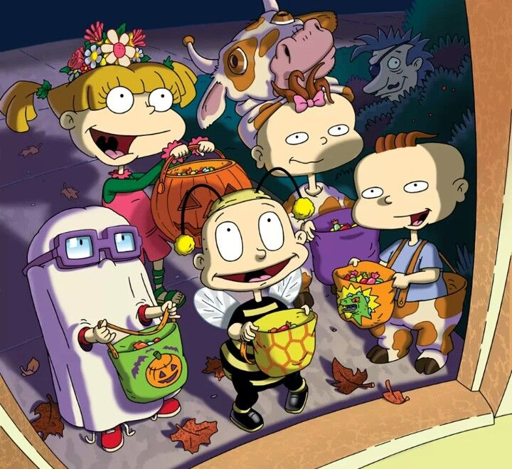 Stew Chuckie Phil Tommy Angelica And Lil Halloween