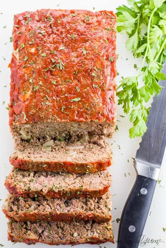 Pin On Ketogenic Meatloaf