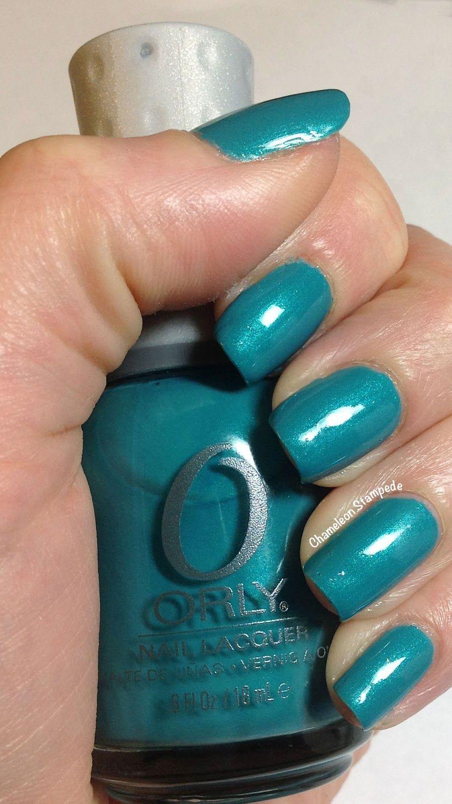 Orly Bailamos Chameleon Stampede Nail Blog Nails Nail Polish | Solid ...