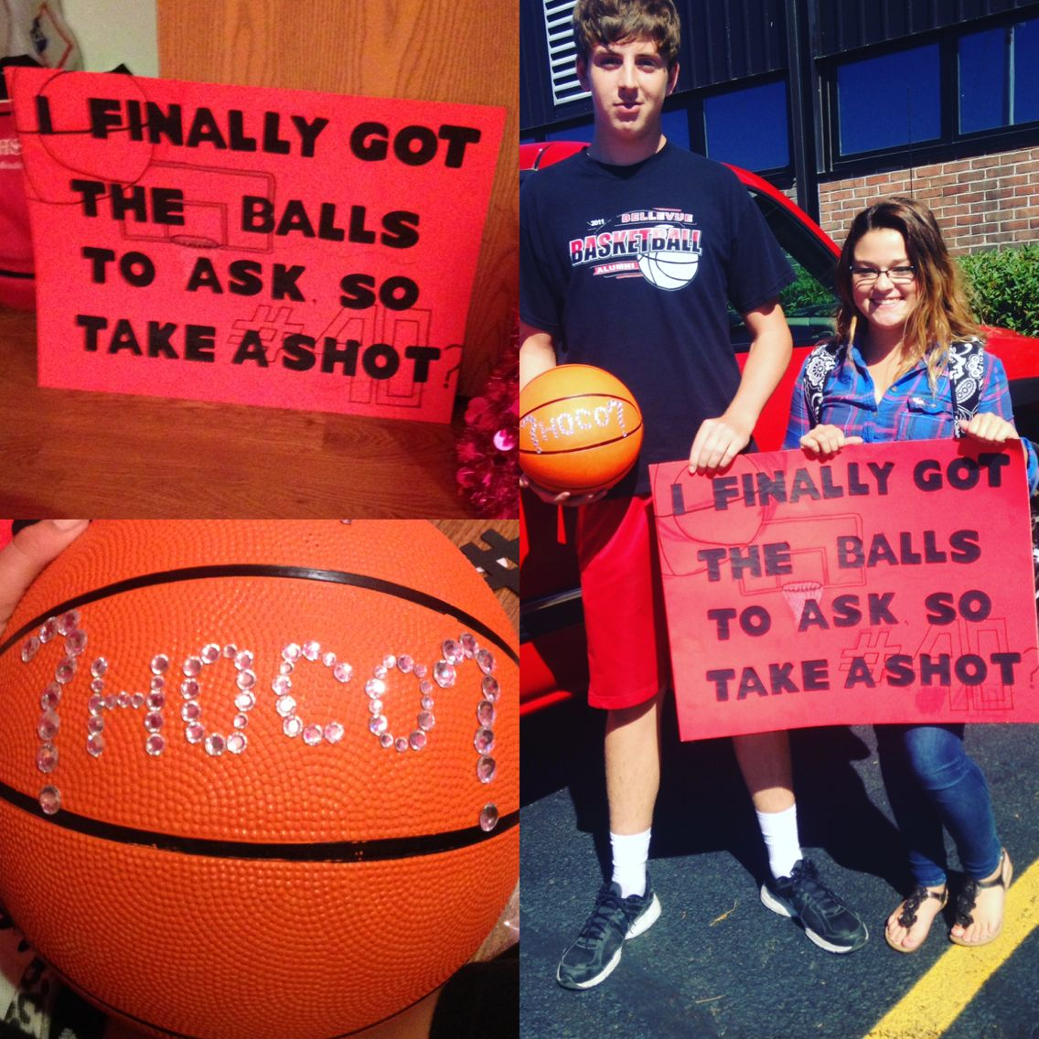 Basketball Homecoming Proposal 2015