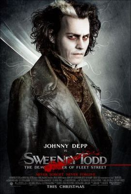 Sweeney Todd The Demon Barber Of Fleet Street Poster Id 662460 Sweeney Todd Tim Burton Movie Fleet Street