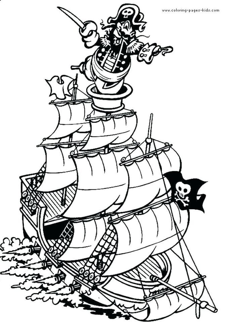 Pirate Printable Coloring Pages Pirate Coloring Pages Mermaid Coloring Pages Coloring Pages To Print [ 1131 x 800 Pixel ]