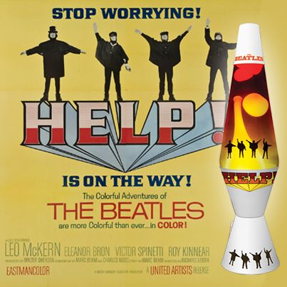The Beatles Help! Lava Lamp Available 9/1 Or Now At LavaLamp.com