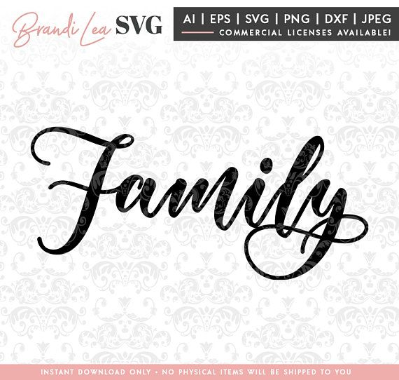 family svg, home svg, motivational svg, home decor svg, DxF, EpS, Quote SVG, Cut File, Cricut, Silhouette Instant download, Iron Transfer