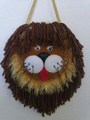Lion crochet girl purse (Allochka2012) Tags: bag handmade sewing crochet lion yarn purse applique
