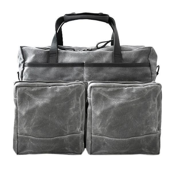 640edfc85158 Epic 48 Hour Workcase | Grey Wax Canvas | WORK | Waxed canvas ...