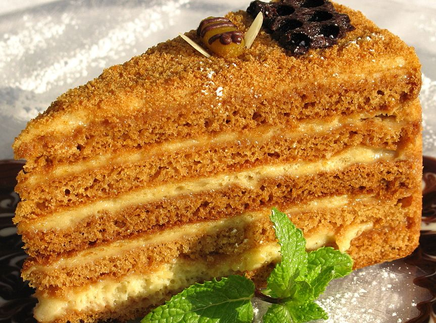 Домашняя кухня торт медовик