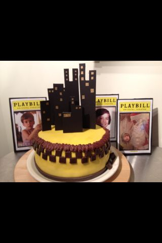 Broadway Theme Taxi Cab Cake NYC Theme Baby Shower Ideas