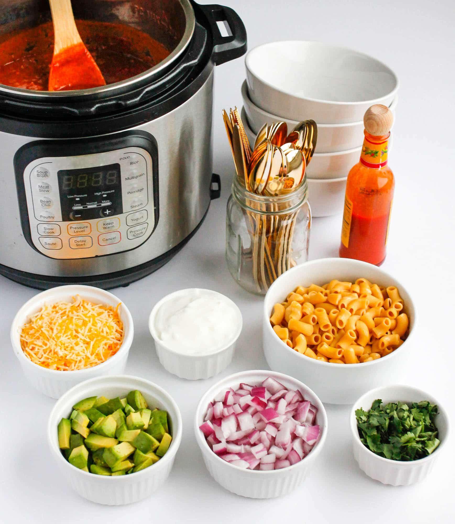 The Best Instant Pot Chili Recipe Pressure Cooker Chili Pressure Cooker Recipes Pot Recipes