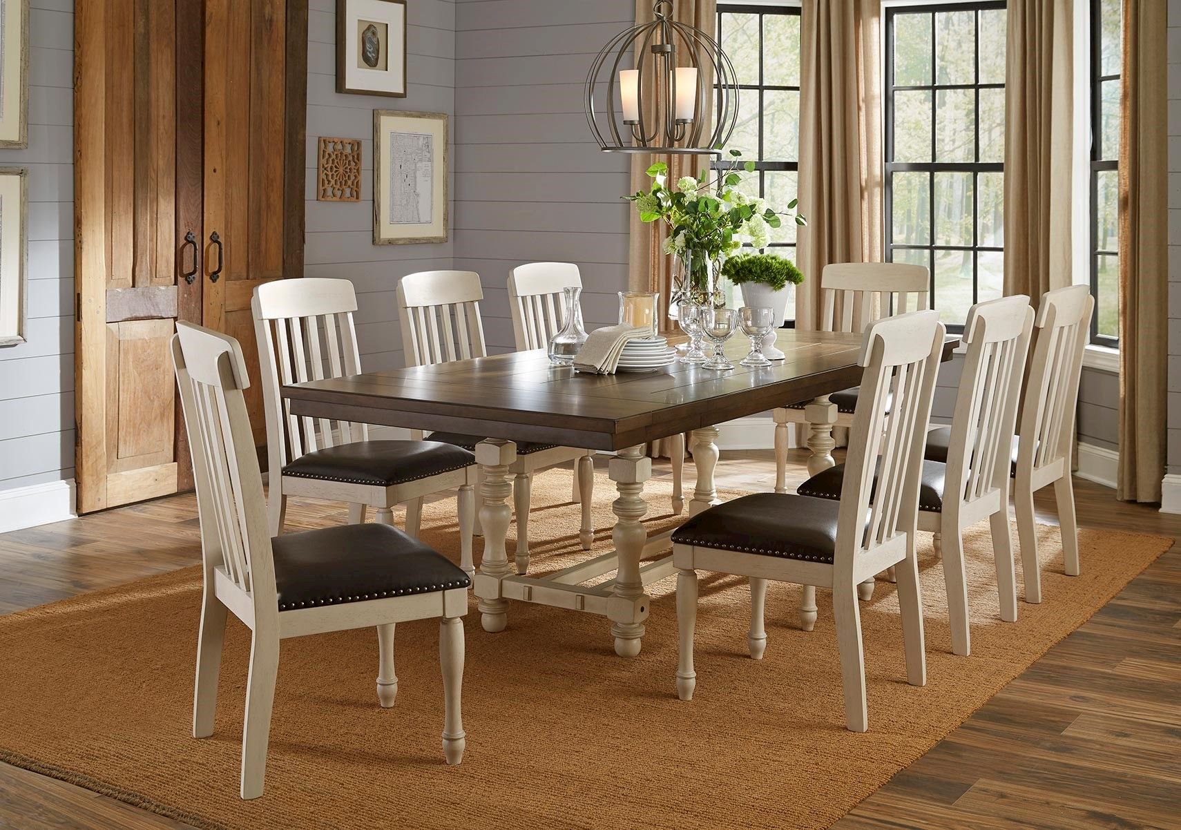 Lacks Samson 9 Pc Dining Room Set Dining Room Sets Living