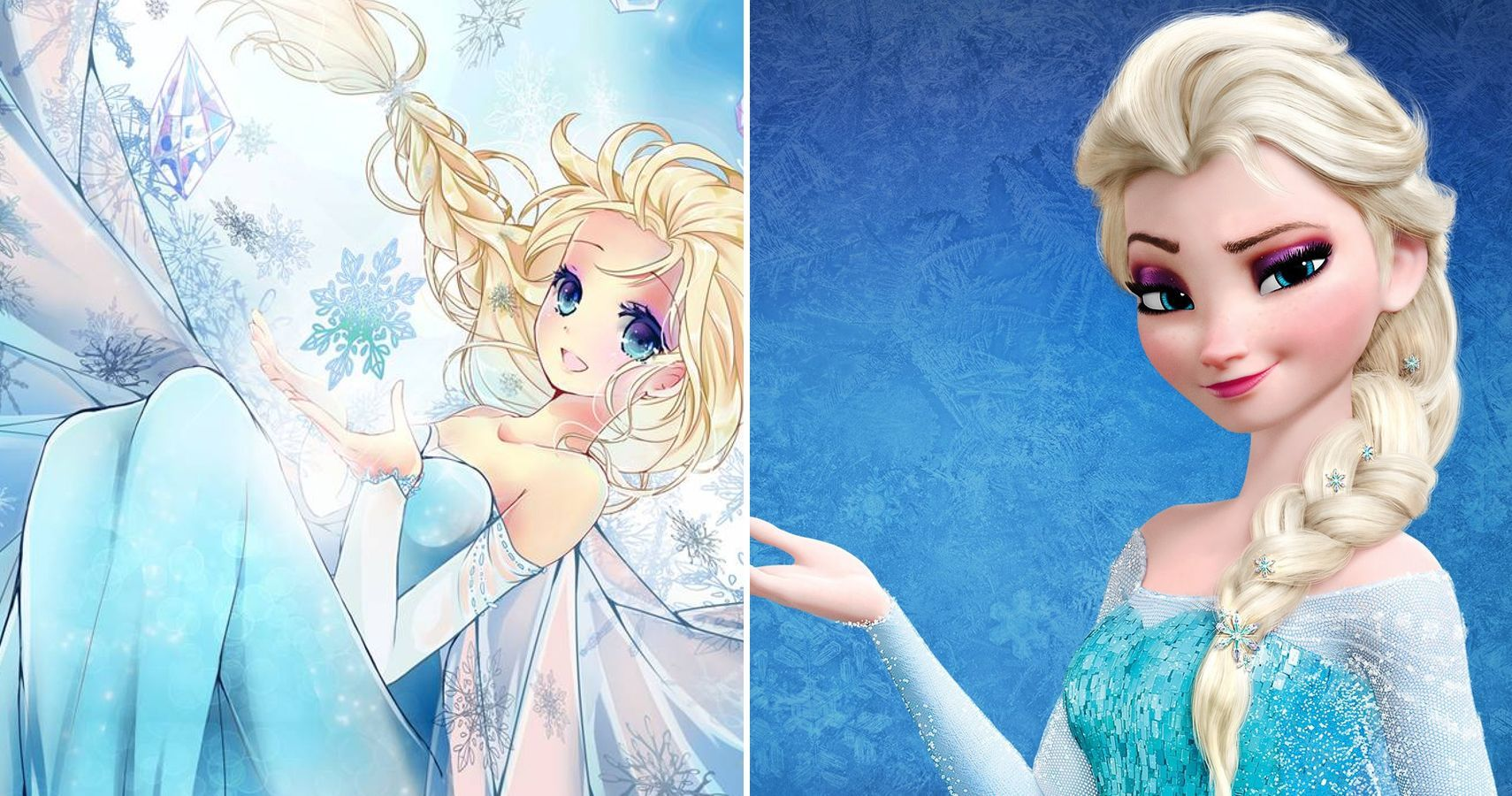 10 Disney Princesses Reimagined As Anime Characters in