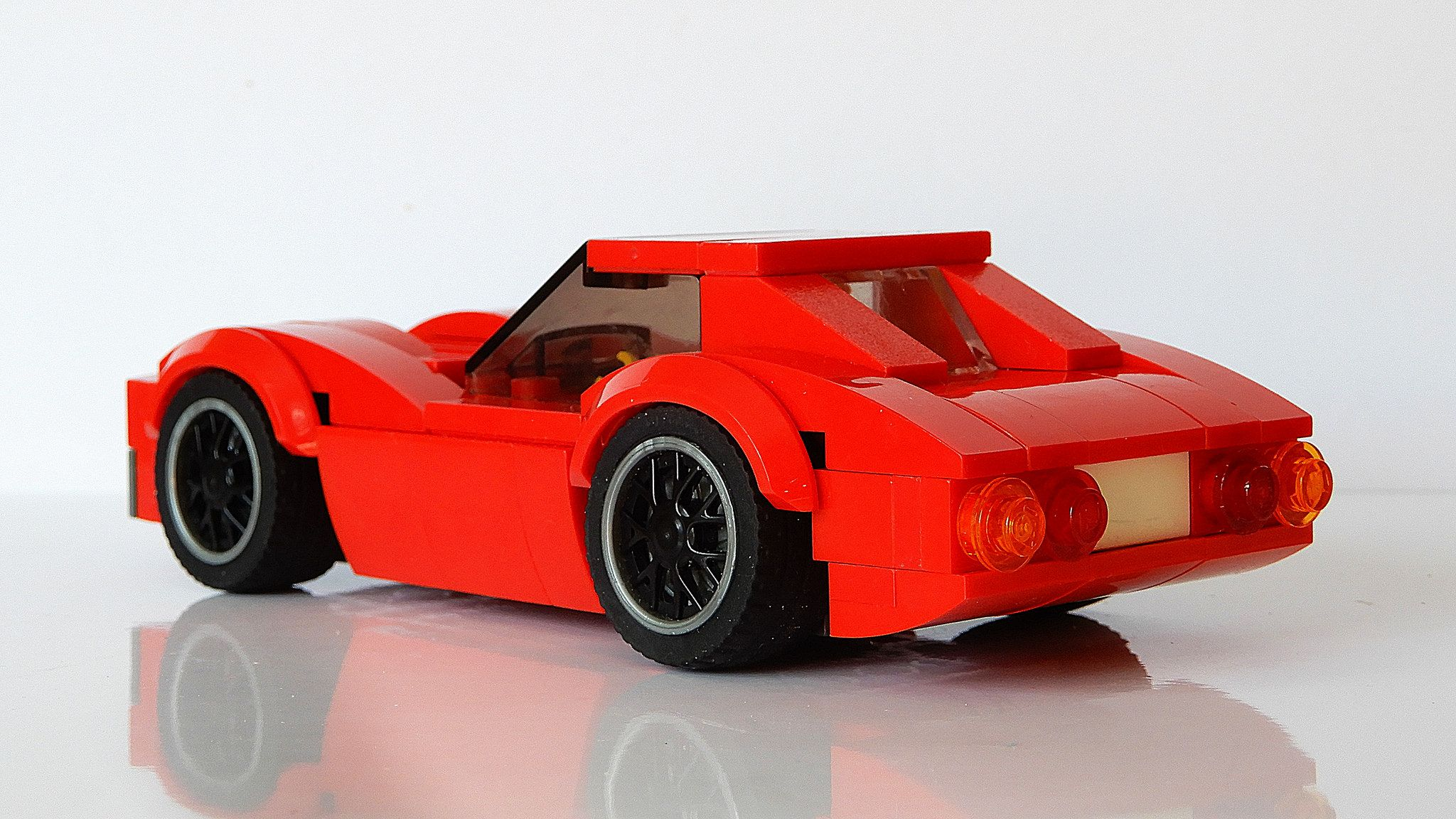 Chevrolet Corvette Stingray C3 Updated Moc 4k Legos
