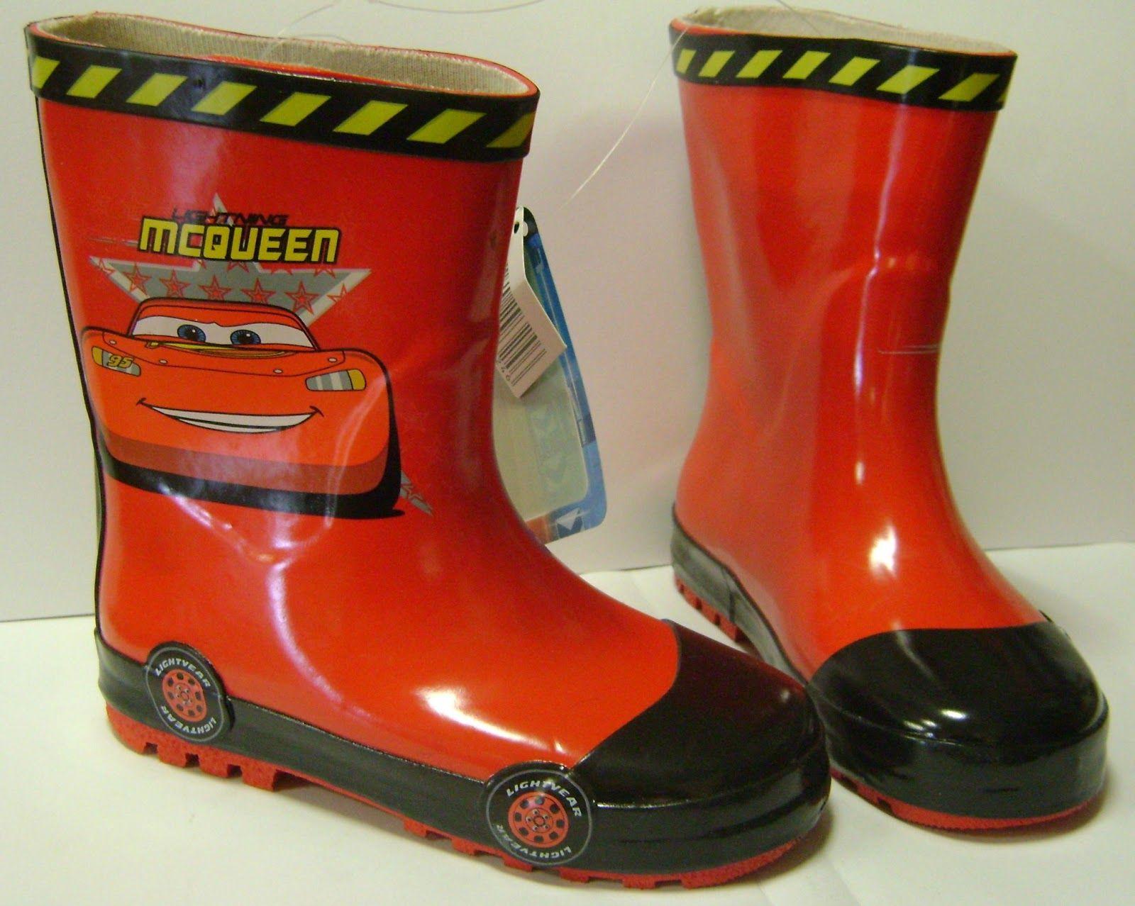 Botas De Agua Con Dibujo De Cars 28 30 Botas De Agua Botas Otono