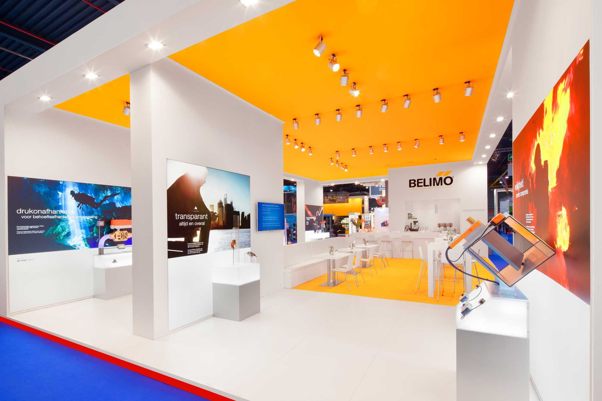 Exhibition Stand Builders Netherlands : Stand from the inside building at vsk trade fair