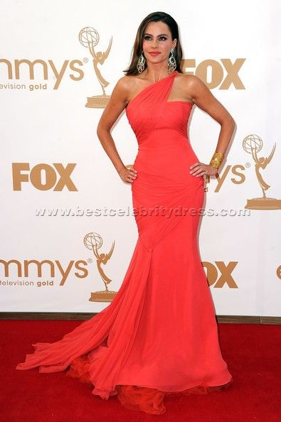 FOR MELODY Dark Coral Dress Source bestcelebritydresscom paired