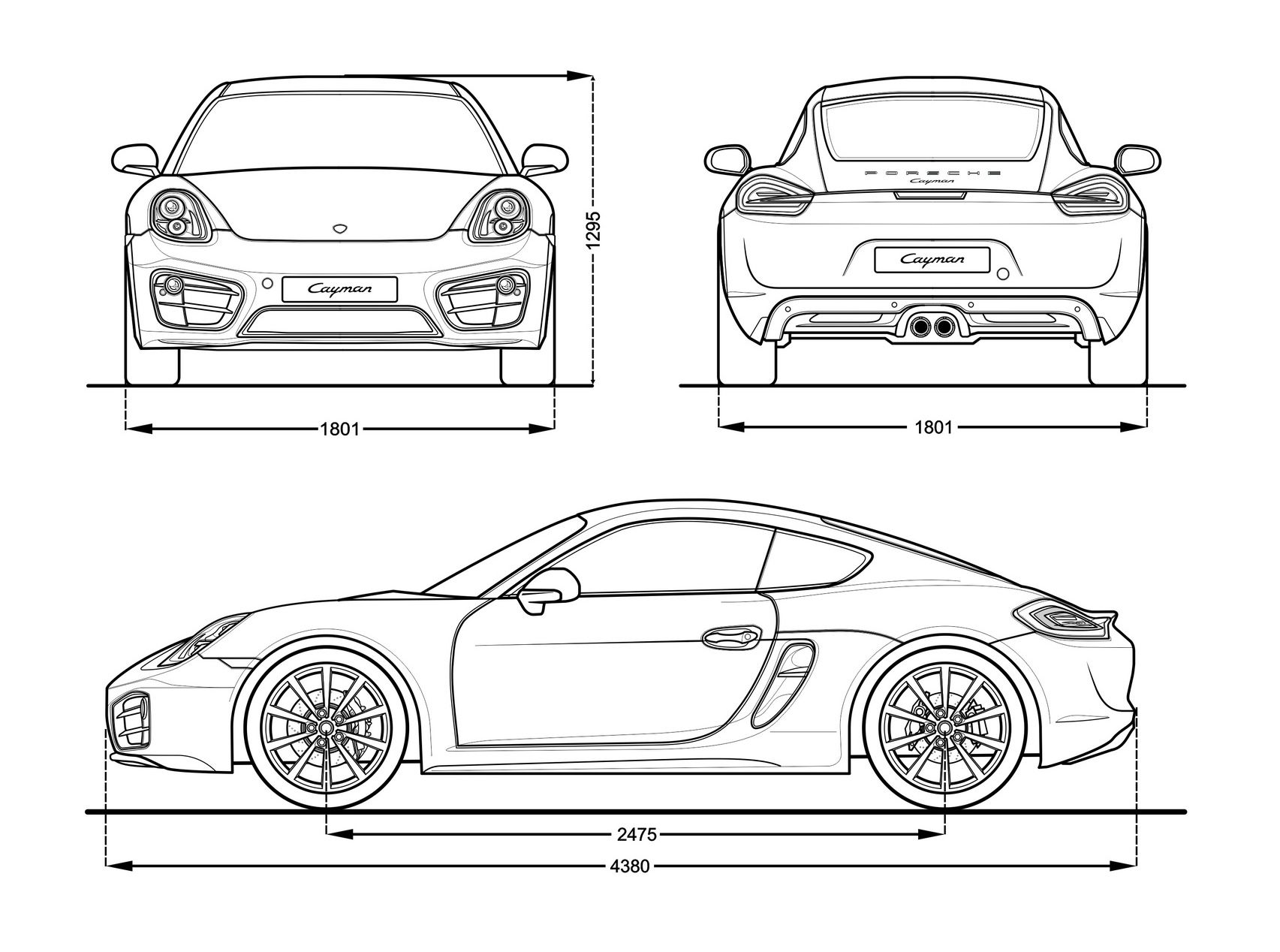 Porsche cayman s blueprint pinterest car cake porsche cayman s blueprint malvernweather Gallery