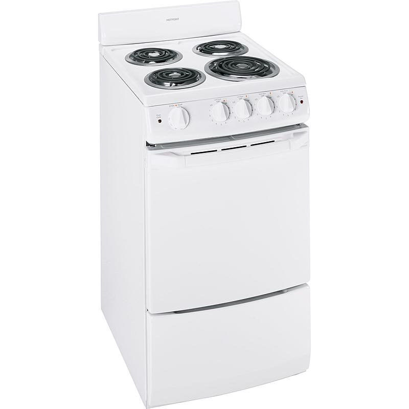 Hotpoint Ra720kwh 2 4 Cu Ft 20 Electric Range Sears Outlet Electric Range Hotpoint Electricity