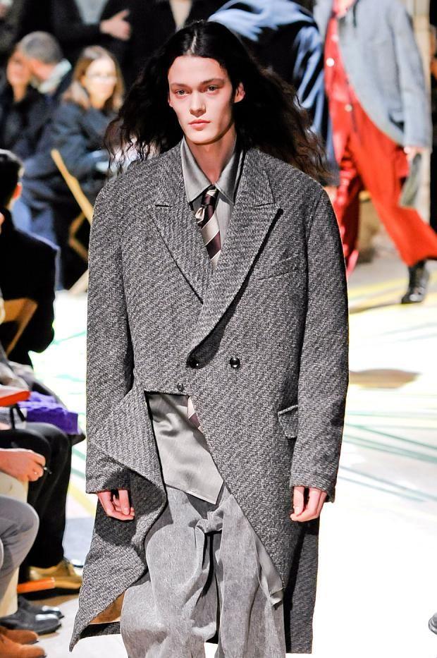 Yohji Yamamoto- semi-detachable coat