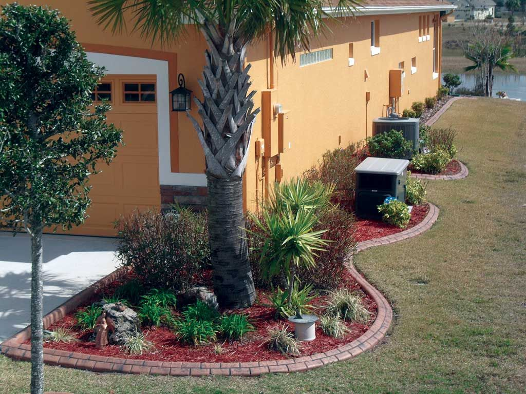 Central florida edging orlando landscape curbing Florida landscape design ideas