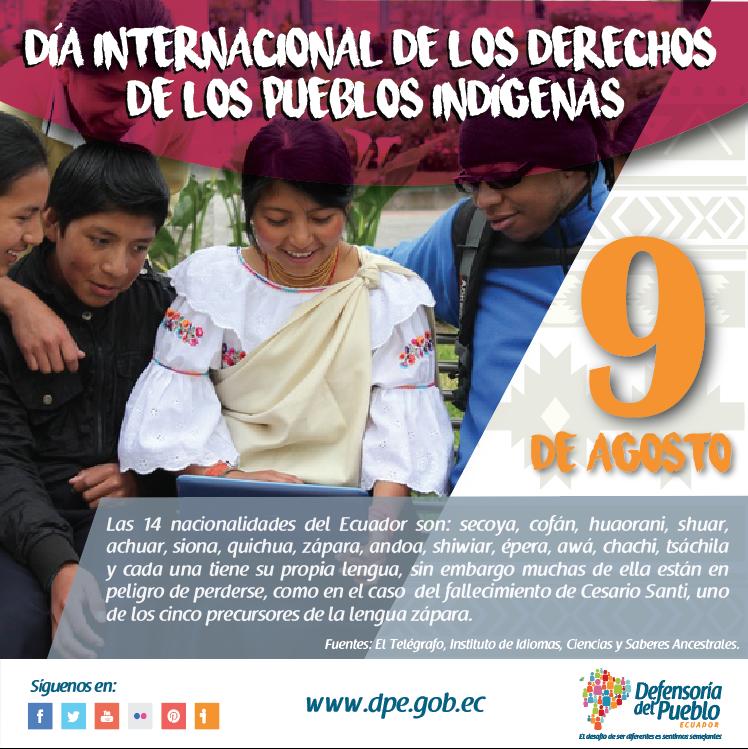 Pin By Defensoría Del Pueblo Ecuador On Día Internacional De Los Derechos De Los Pueblos Indígenas Pandora Screenshot
