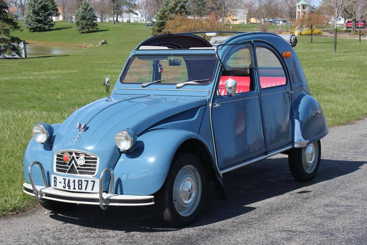1963 Citroen 2cv Convertible For Sale 1826743 Citroen 2cv Citroen Citroen Car