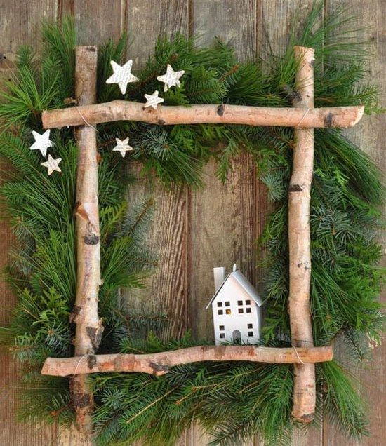 Beste rustikale Pinterest Dekorationen, für Weihnachtsferien #rustikaleweihnachten
