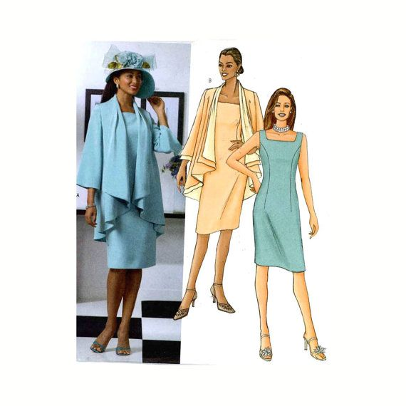 Mother of the Bride Dress and Jacket sewing pattern by HeyChica ...