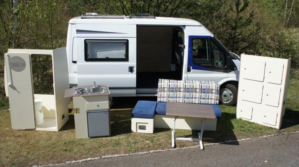 umbau vom transporter zum wohnmobil. Black Bedroom Furniture Sets. Home Design Ideas