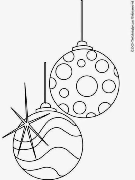 50 ornamentos de navidad para colorear - La Eduteca - Álbumes web de ...