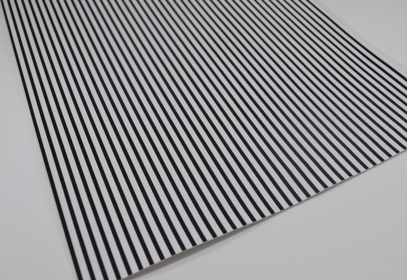 Black White Stripes Faux Leather Sheet 8x11 Faux Leather Textured Faux Leather Fake Leather Faux Te With Images Leather Sheets Faux Leather Fabric Black White Stripes