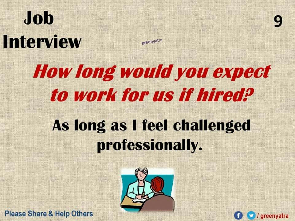 Pin by Pooja on Information | Job interview answers, Job ...