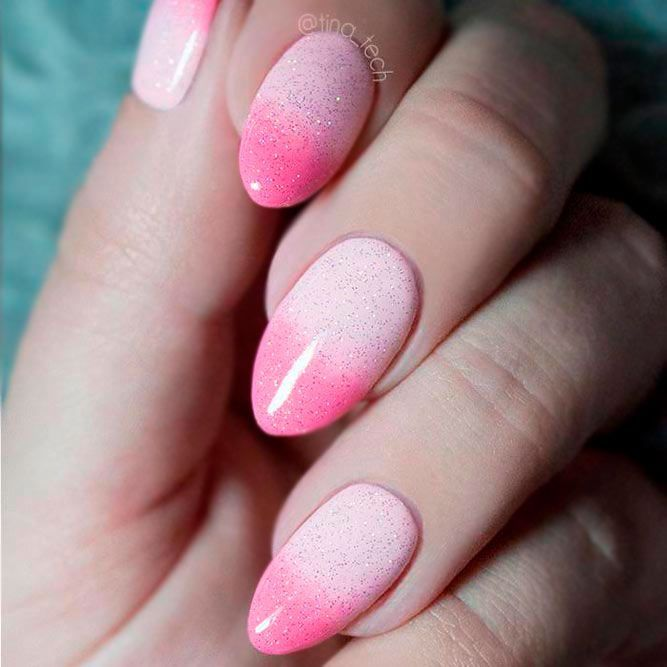 Ombre Glitter Nails Designs to Make Your Look Shiny | Glitter nails ...