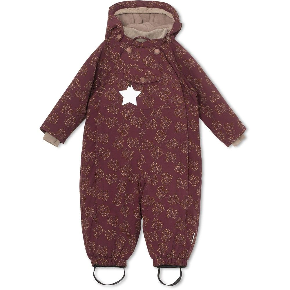 Baby Winter Kalte Hände Schneeanzug Wisti Snowsuit Winetasting Plum Kind Mode