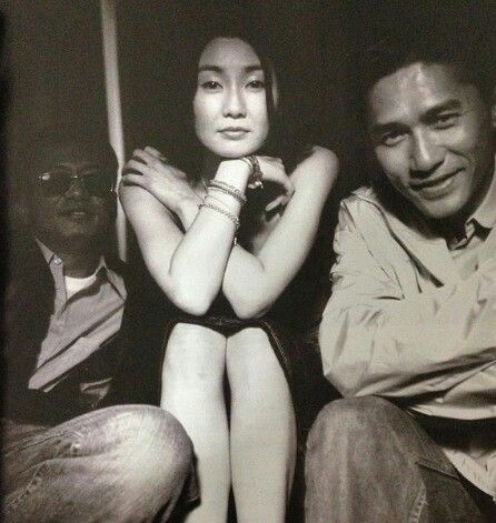 "TATJANA SL on Twitter: ""Wong Kar Wai, Maggie Cheung and Tony Leung. https://t.co/hX5RGB3tCg"""