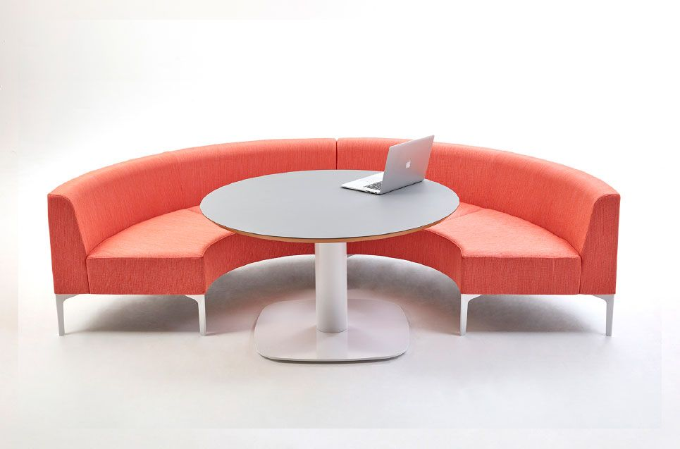 Symbol Is A Modular Sofa System By UK Design Team Naughtone Made In Britain Seating With Curved Segments For Creating
