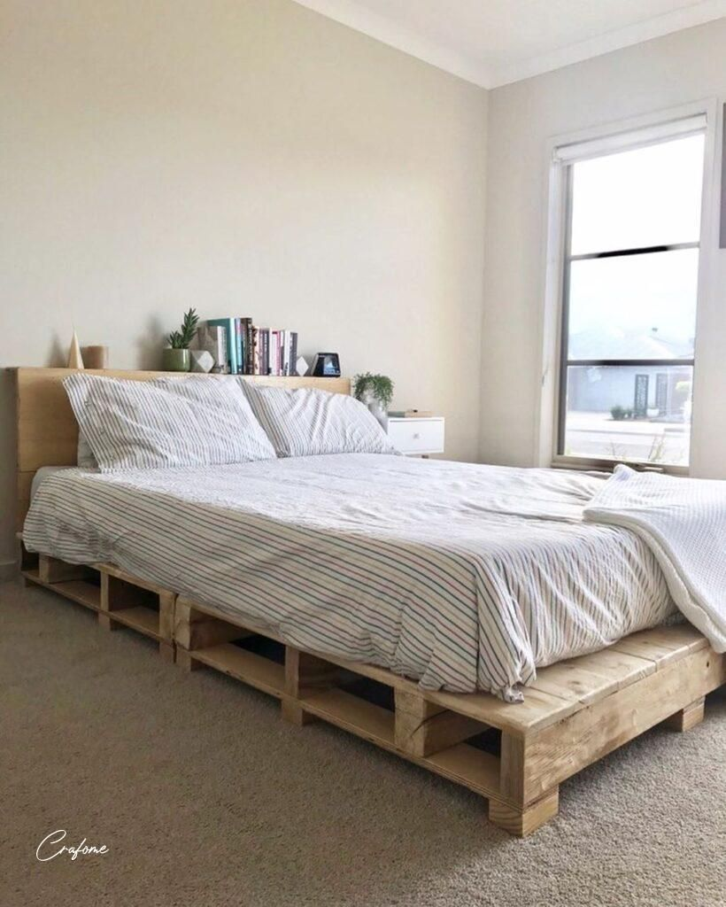 50+ adorable pallet bed ideas you will love - crafome in 2020 | pallet bed, pallet beds, pallet