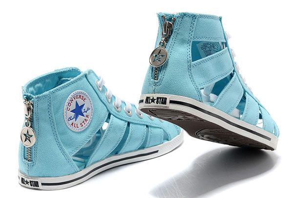 Contratado secretamente Faceta  Baratas * 2016 zapatos del estilo de Avril Lavigne gladiador sandalias  Converse Chuck Taylor All St… | Converse all star, Tenis all star feminino,  Sapatos sandálias