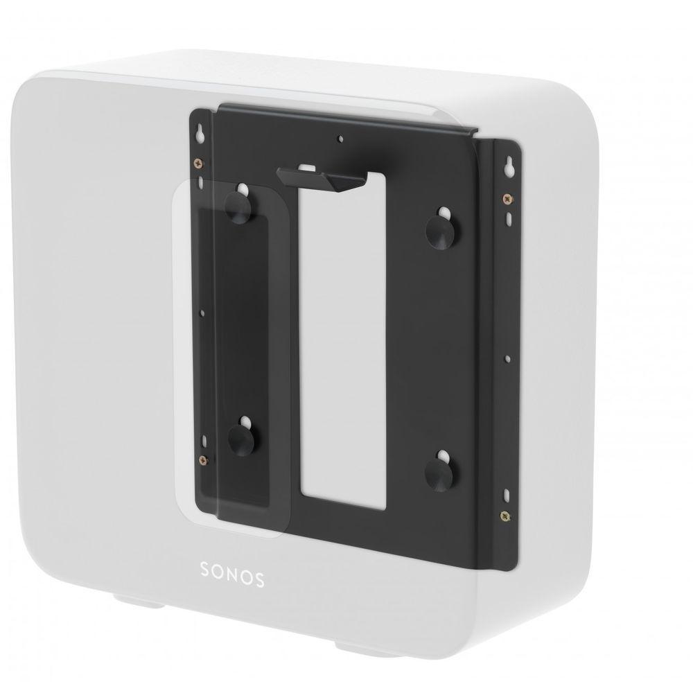 Alphason Sonos Sub Subwoofer Speaker Wall Bracket Mount Mounting Black Discreet Speaker Wall Brackets Sonos Sonos Wall