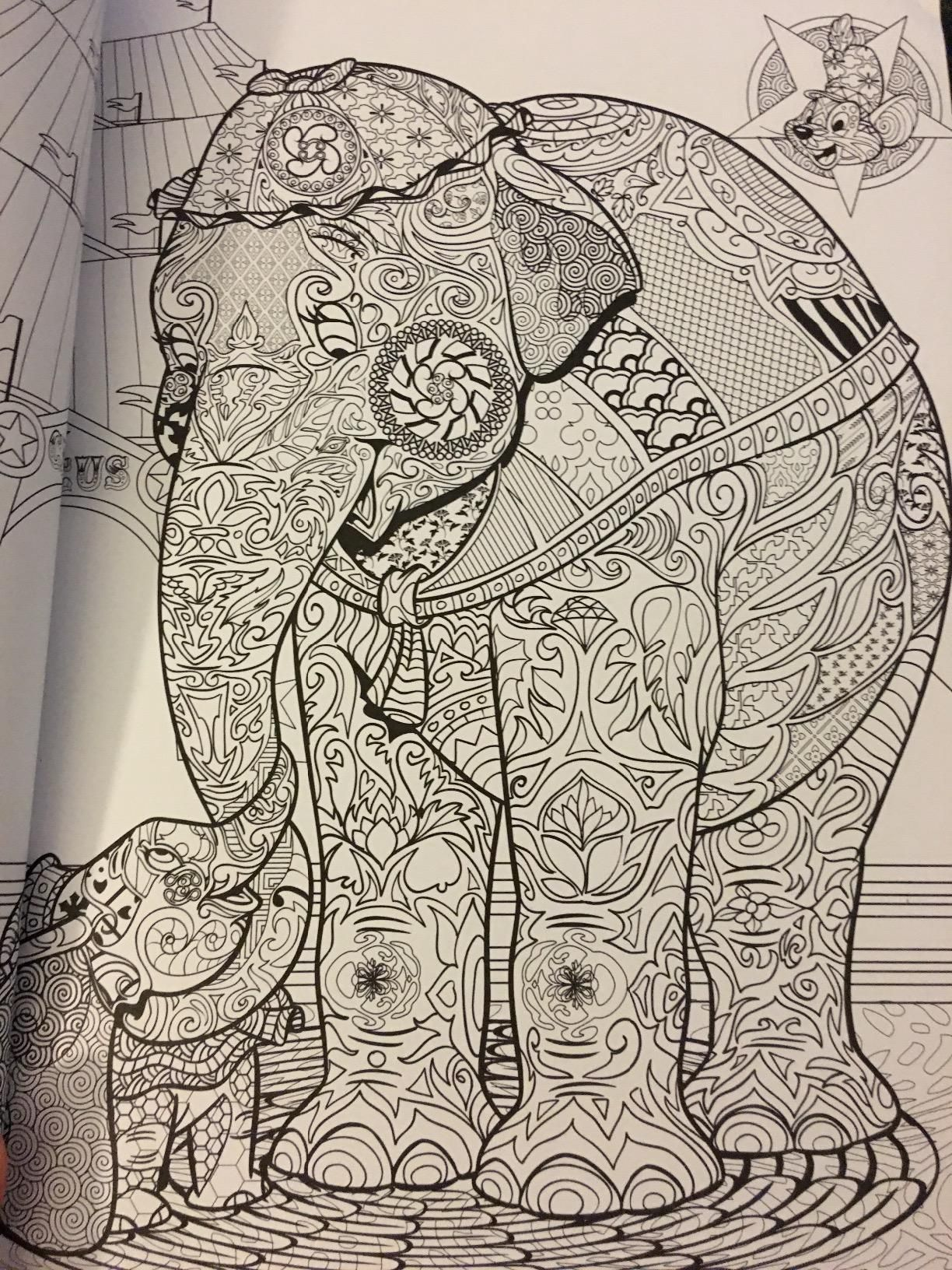 This is a picture of Epic Art Of Coloring Disney Animals