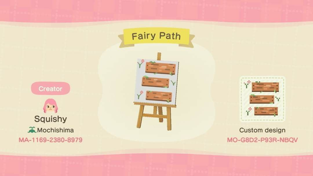 Animal crossing new horizons QR code